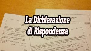 La Dichiarazione Di Rispondenza Perito Industriale Tasini Vittorio