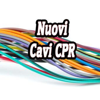 I nuovi cavi CPR
